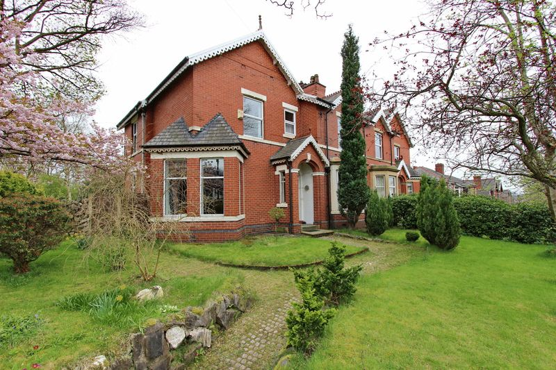 4 Bedrooms Semi Detached House for sale in Stand Lane, Radcliffe, Manchester