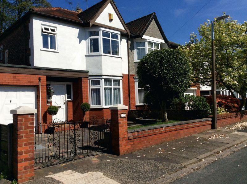 3 Bedrooms Semi Detached House for sale in Norwood Avenue, Salford, Manchester