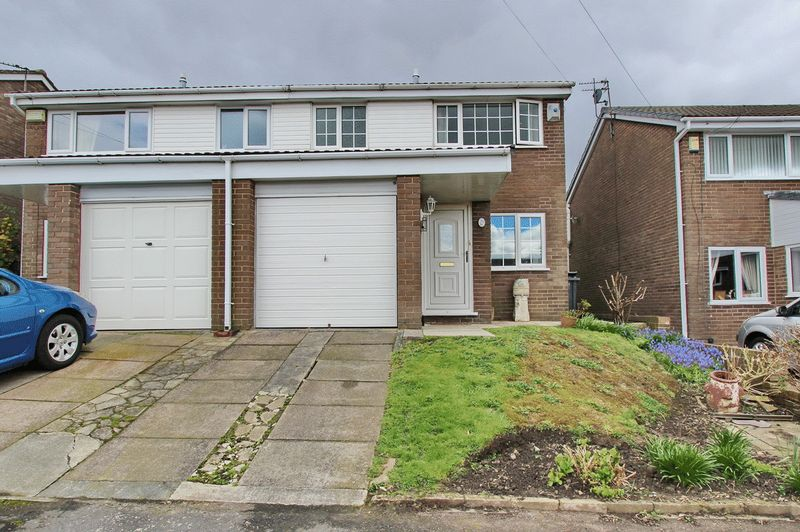 3 Bedrooms Semi Detached House for sale in Meadowcroft, Radcliffe, Manchester