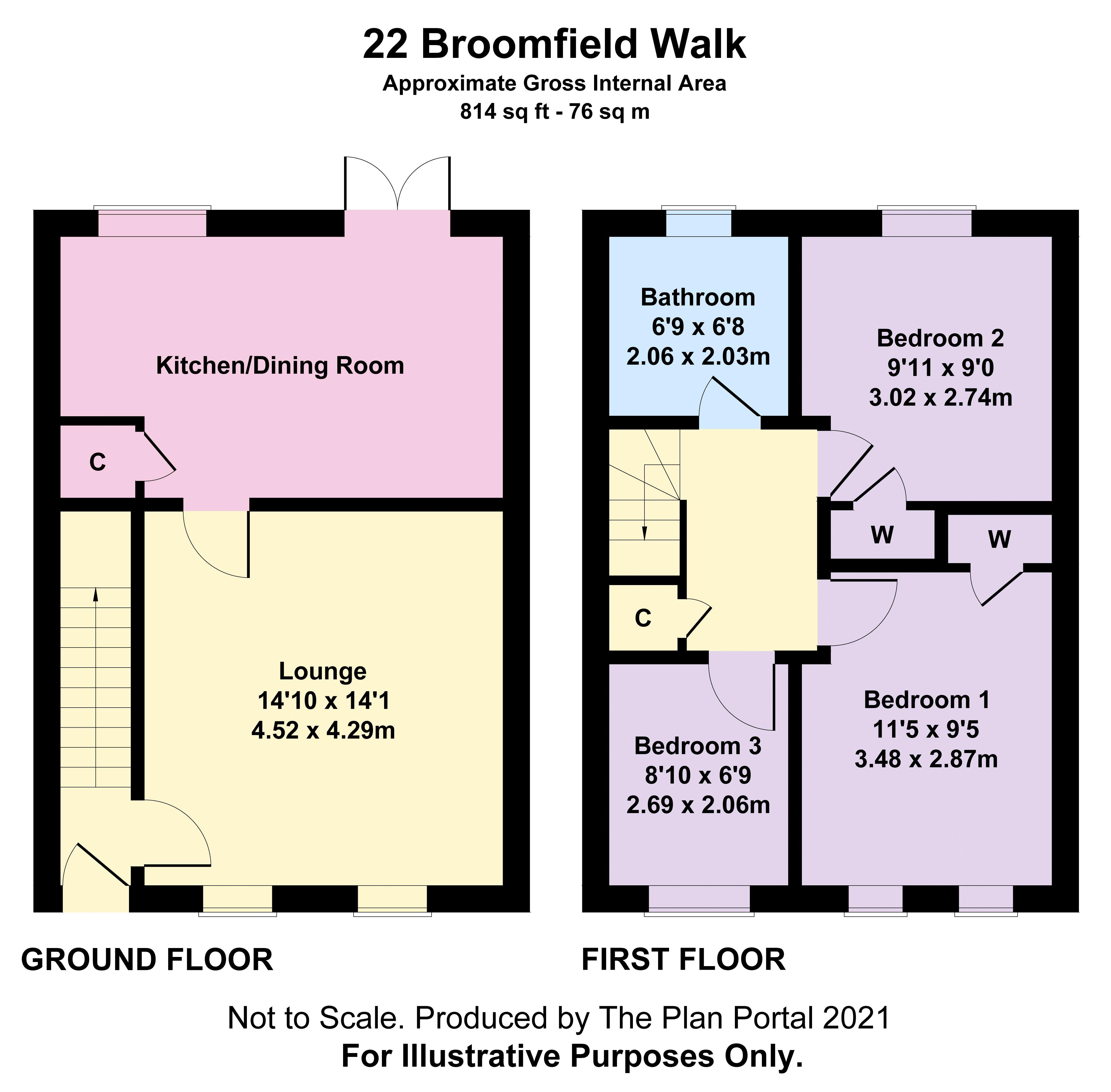 Broomfield Walk Kirkintilloch