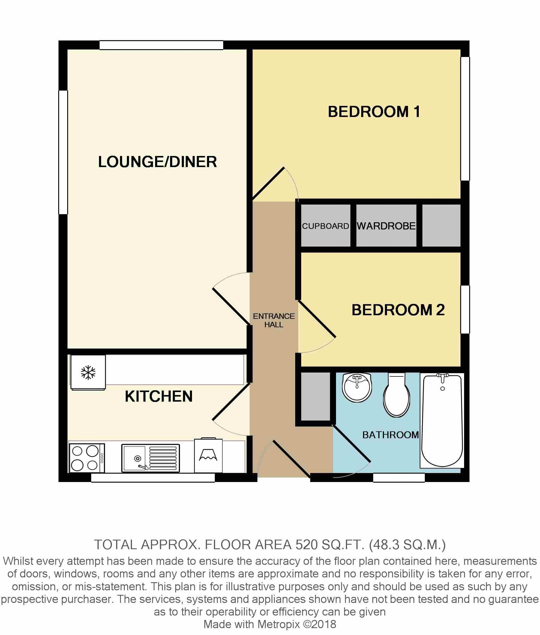 Flat 9 Mont Clare, Sohier Road