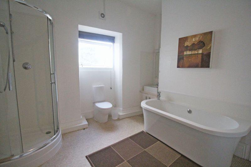 Allocated bathroom