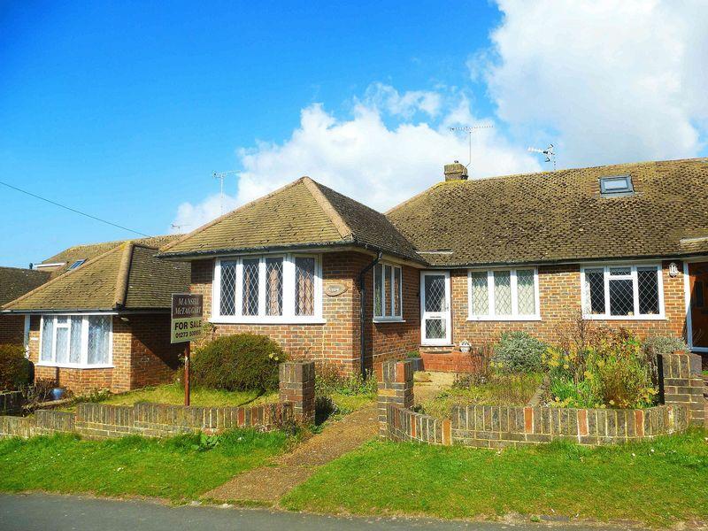 2 Bedrooms Semi Detached Bungalow for sale in Ladies Mile Road, Patcham, Brighton,