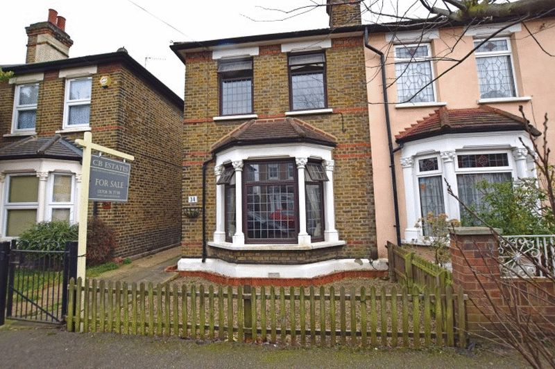 2 Bedrooms Semi Detached House for sale in Honiton Road, Romford