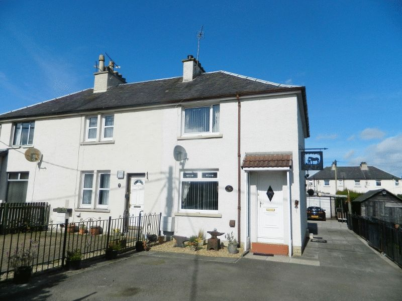 2 Bedrooms Terraced House for sale in 10 MAITLAND AVENUE, BANNOCKBURN