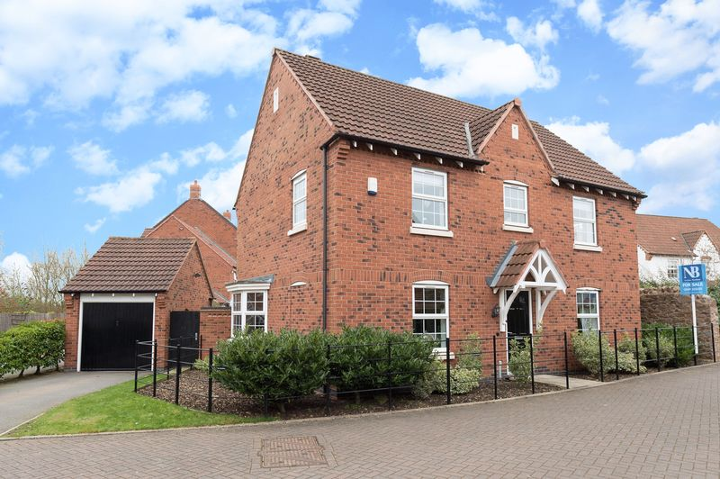 4 Bedrooms Detached House for sale in 14 Grapes Garden Close Mountsorrel