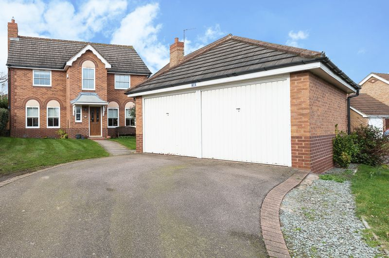 4 Bedrooms Detached House for sale in Lemontree Lane Loughborough