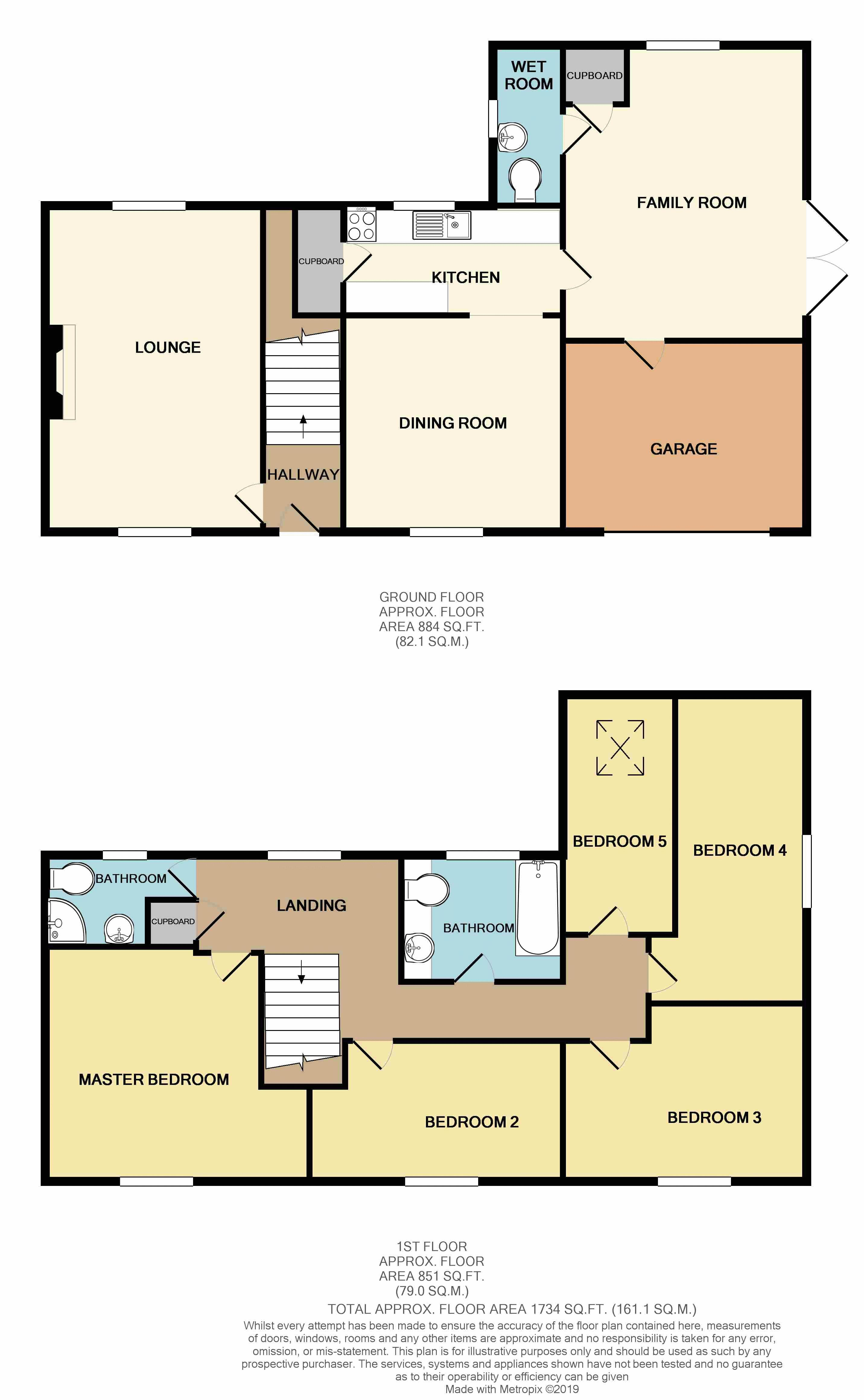 4 Glebelands Floor Plan
