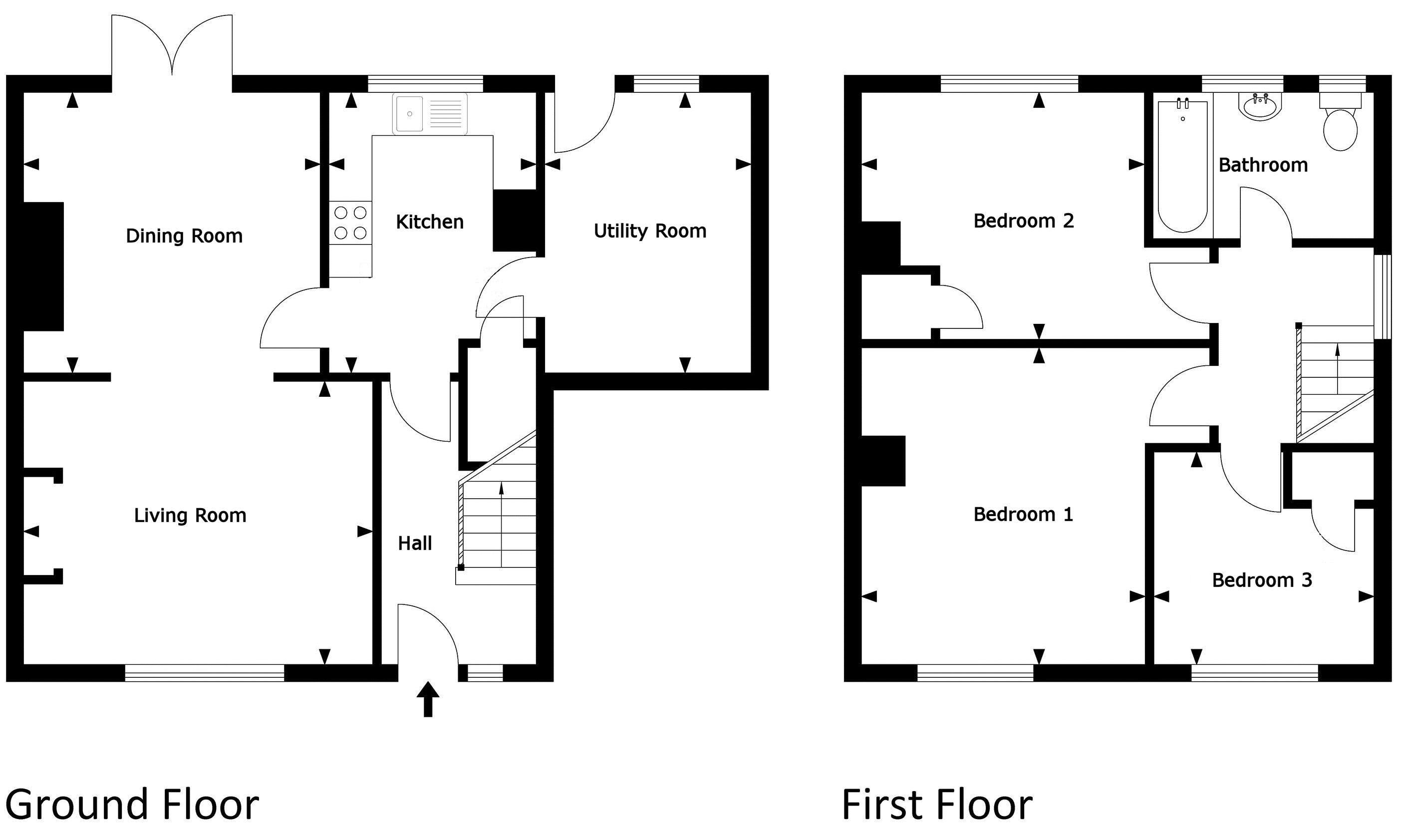 Existing house plan