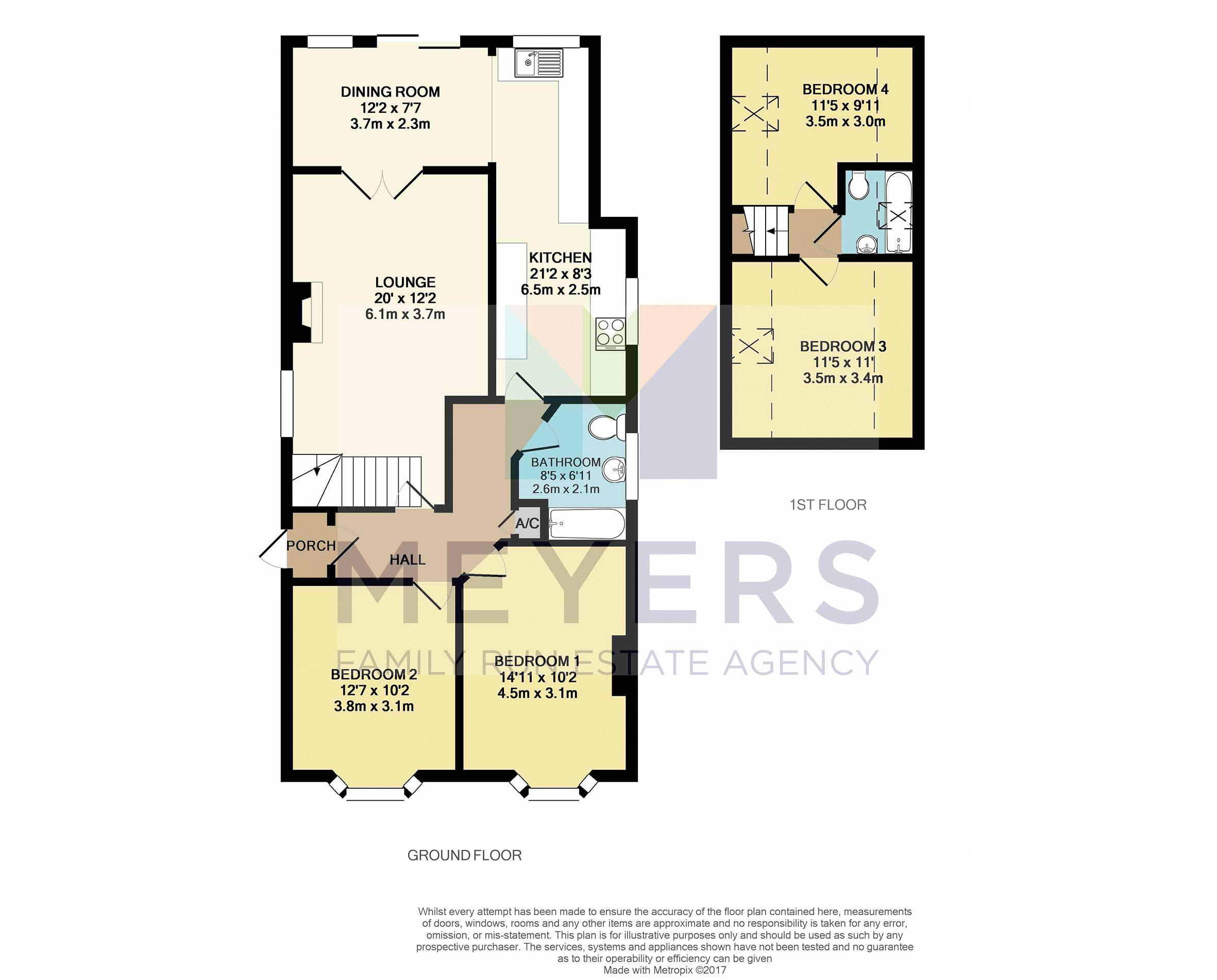 Colour Floorplan