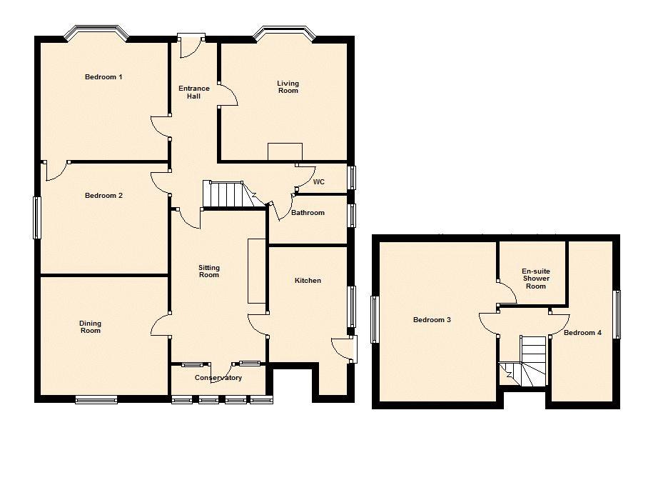 Floor Plan - Not to scale
