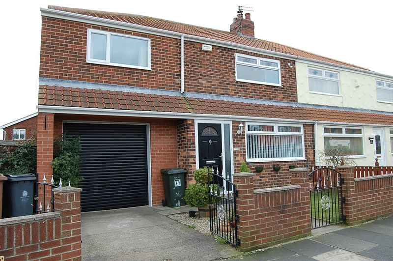 3 Bedrooms Semi Detached House for sale in **RARE TO THE MARKET** Warkworth Avenue, Wallsend