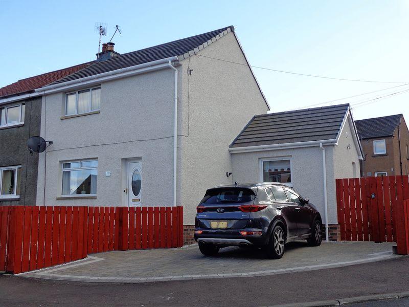 2 Bedrooms Semi Detached House for sale in 17 LORNSHILL CRESCENT, ALLOA