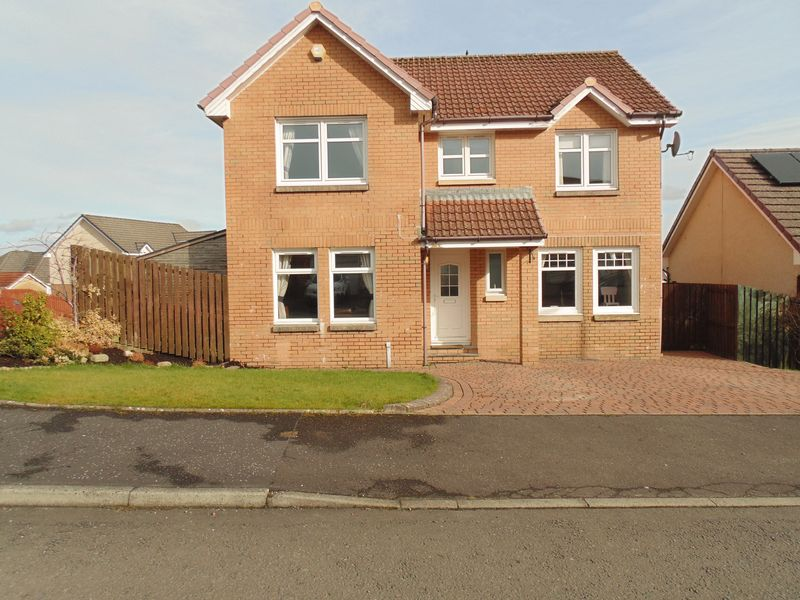 4 Bedrooms Detached House for sale in Burns Wynd, Larkhall