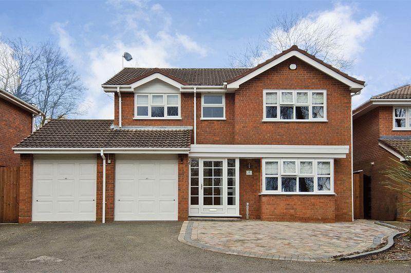 4 Bedrooms Detached House for sale in Brunel Close, Hunslet, Burntwood