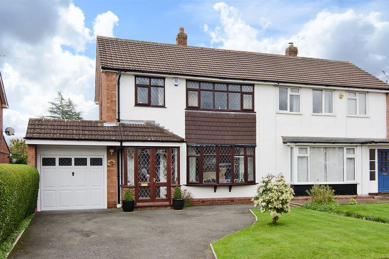 3 Bedrooms Semi Detached House for sale in Redlock Field, Lichfield