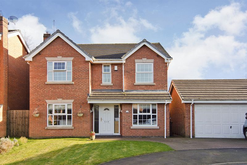 4 Bedrooms Detached House for sale in Prospect Manor Court, Cannock