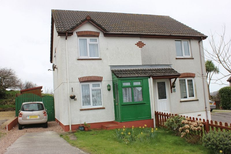 2 Bedrooms Semi Detached House for sale in The Meadows, St Dennis