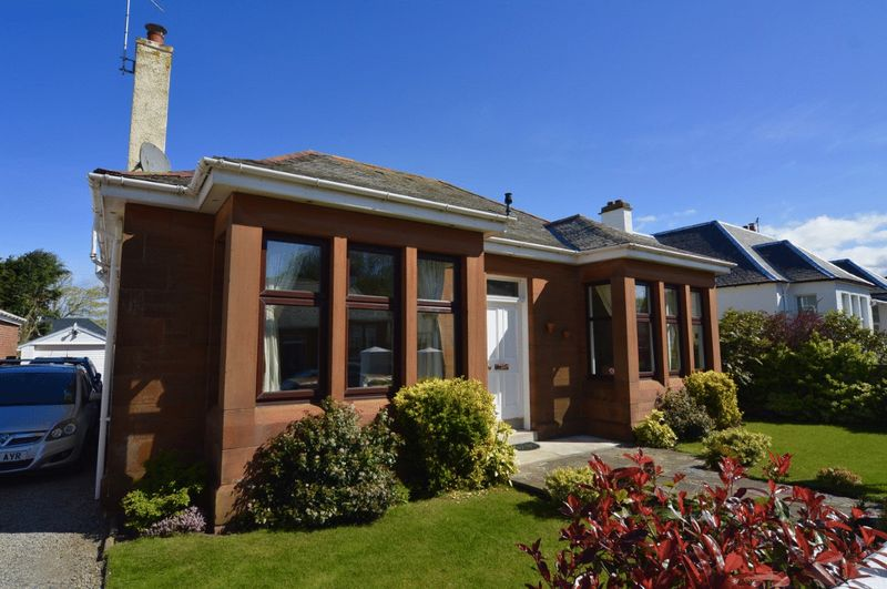 4 Bedrooms Detached Bungalow for sale in Seafield Crescent, Ayr