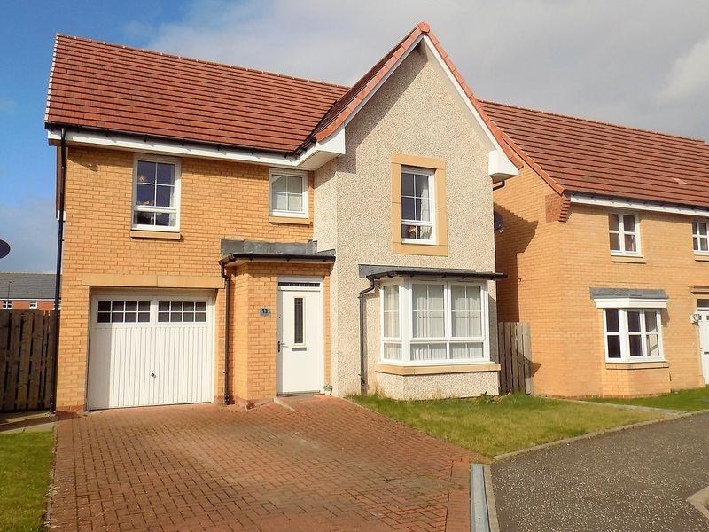 4 Bedrooms Detached House for sale in Mellock Crescent, Falkirk
