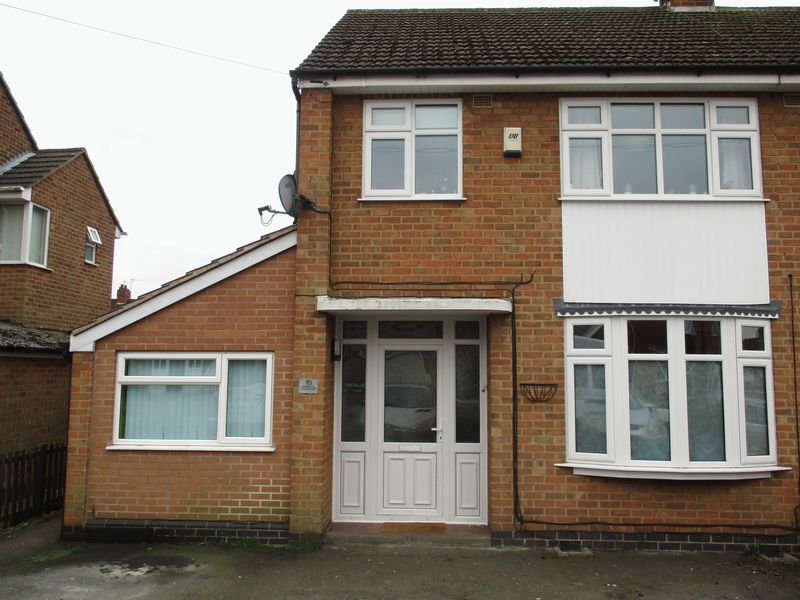 3 Bedrooms Semi Detached House for sale in Sunnyside, Hinckley