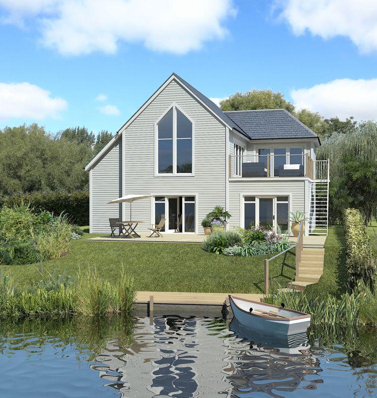 3 Bedrooms Detached House for sale in Plot 56, Summer Lake, Spine Road, South Cerney, GL7 5LW