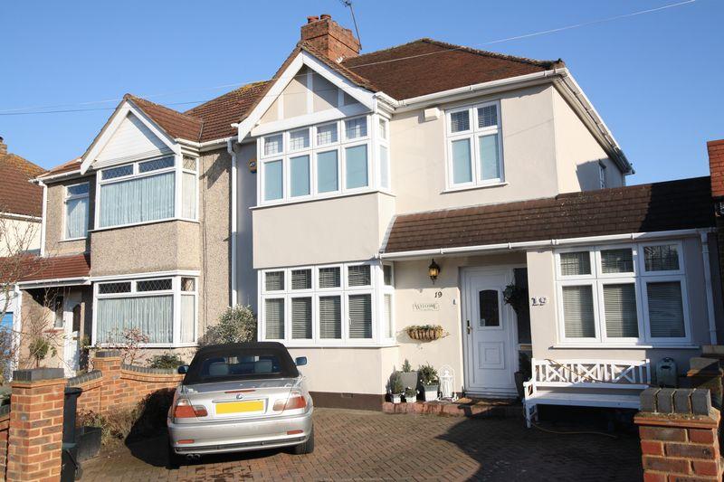 4 Bedrooms Semi Detached House for sale in Elmhurst Road, Mottingham SE9