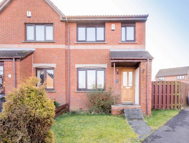 2 Bedrooms Semi Detached House for sale in Glen Fruin Grove, Dunfermline
