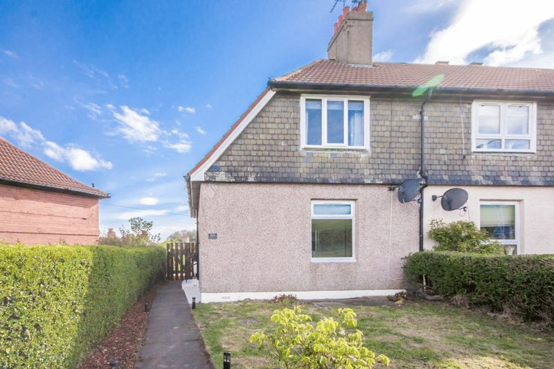 2 Bedrooms Semi Detached House for sale in Castlandhill Road, Rosyth