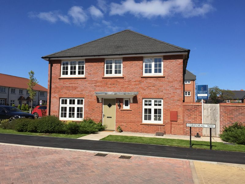 3 Bedrooms Semi Detached House for sale in Corporal Way, Saighton, Chester