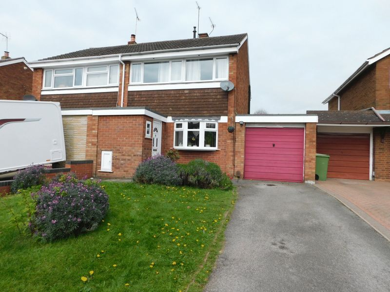 3 Bedrooms Semi Detached House for sale in Springvale Rise, Parkside, Stafford