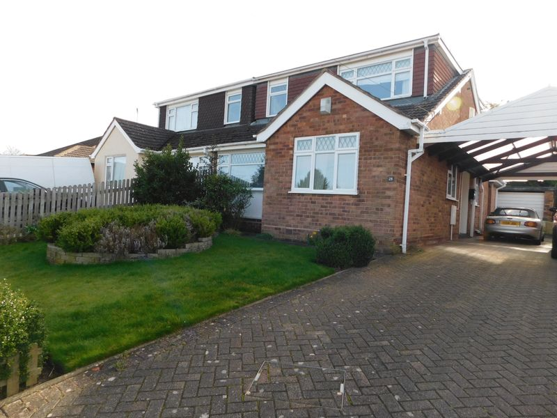3 Bedrooms Semi Detached Bungalow for sale in Rockhouse Drive, Great Haywood, Stafford