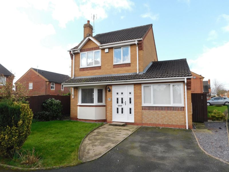 3 Bedrooms Detached House for sale in The Crescent, Doxey, Stafford