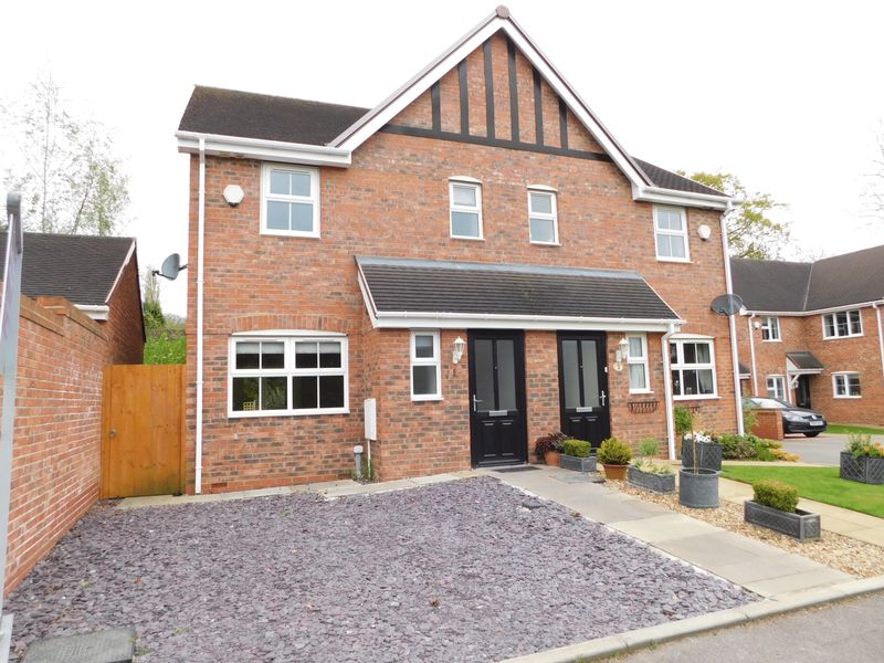 3 Bedrooms Semi Detached House for sale in The Orchard, Eccleshall