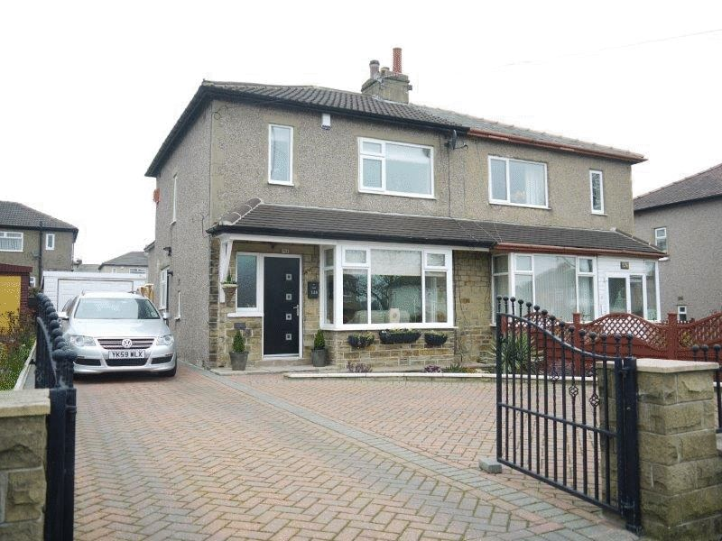 3 Bedrooms Semi Detached House for sale in Wrose Road, Wrose, Bradford BD2 1PU