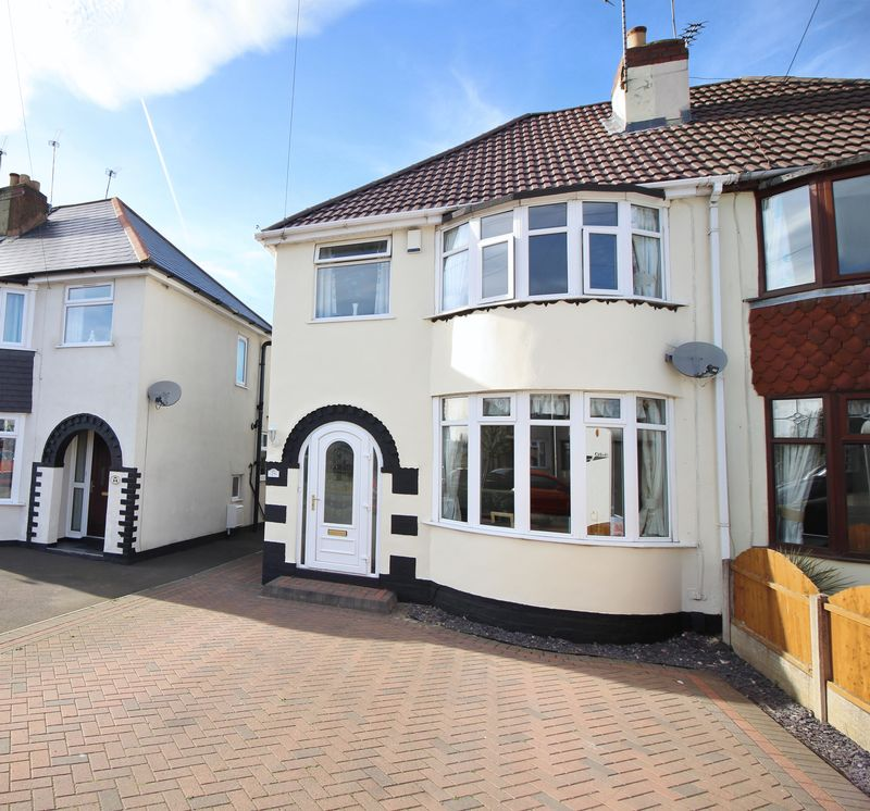 3 Bedrooms Semi Detached House for sale in Sundour Crescent, Wednesfield