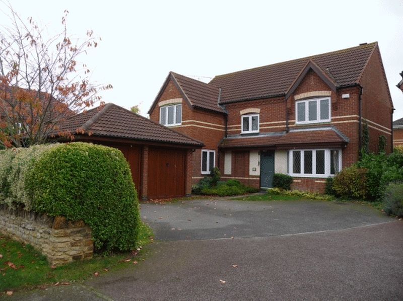 4 Bedrooms Detached House for sale in Orchard Hill, Northampton