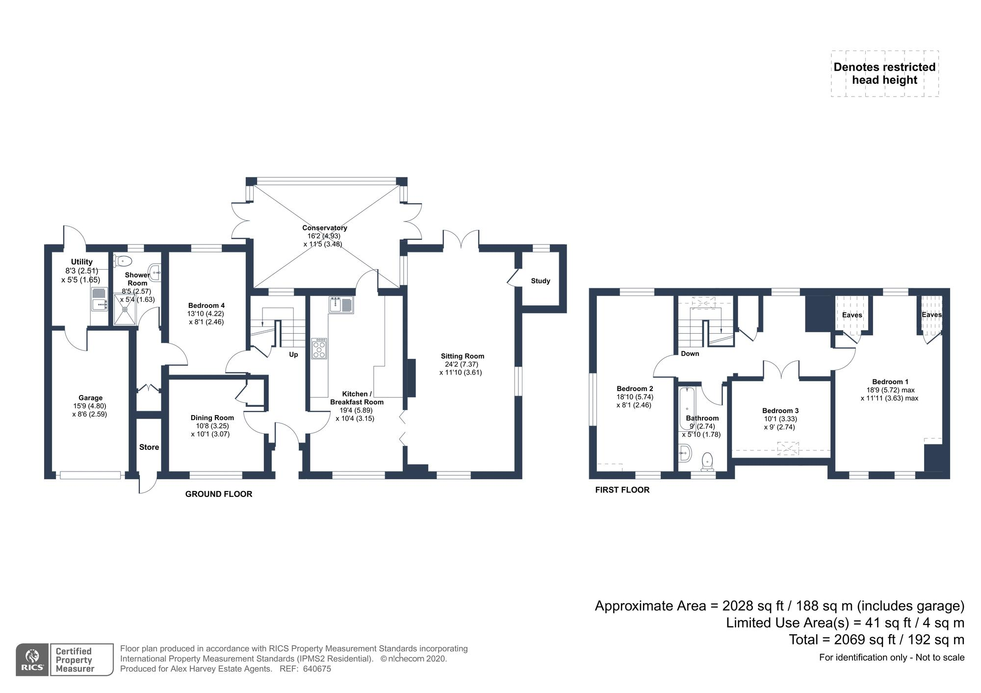 Rickyards Floorplan