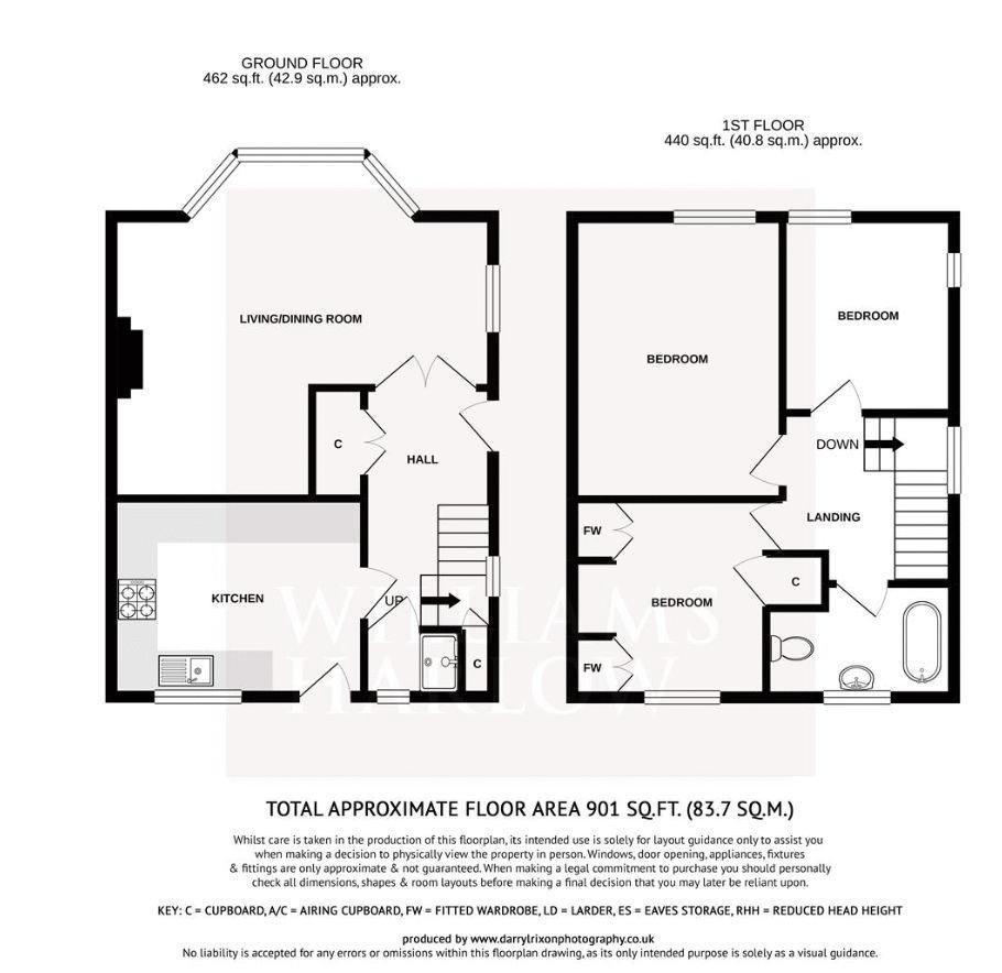 Yewlands Close Floor Plan