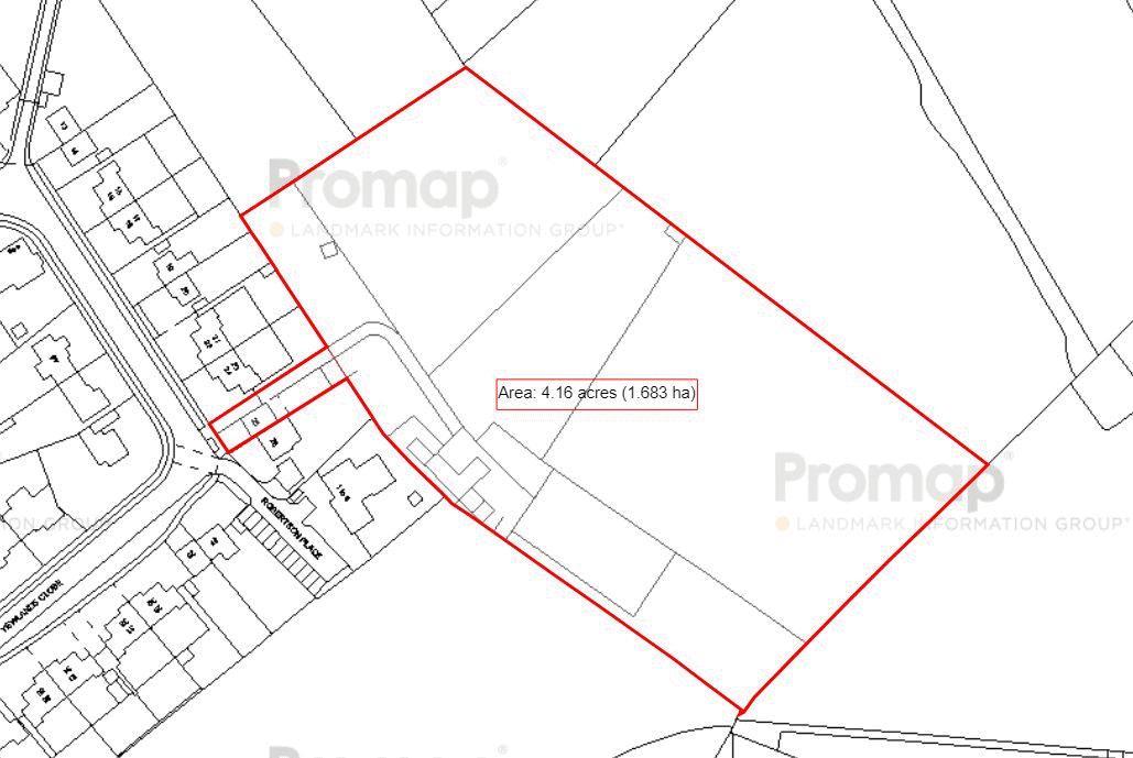 Yewlands Close Land Plan