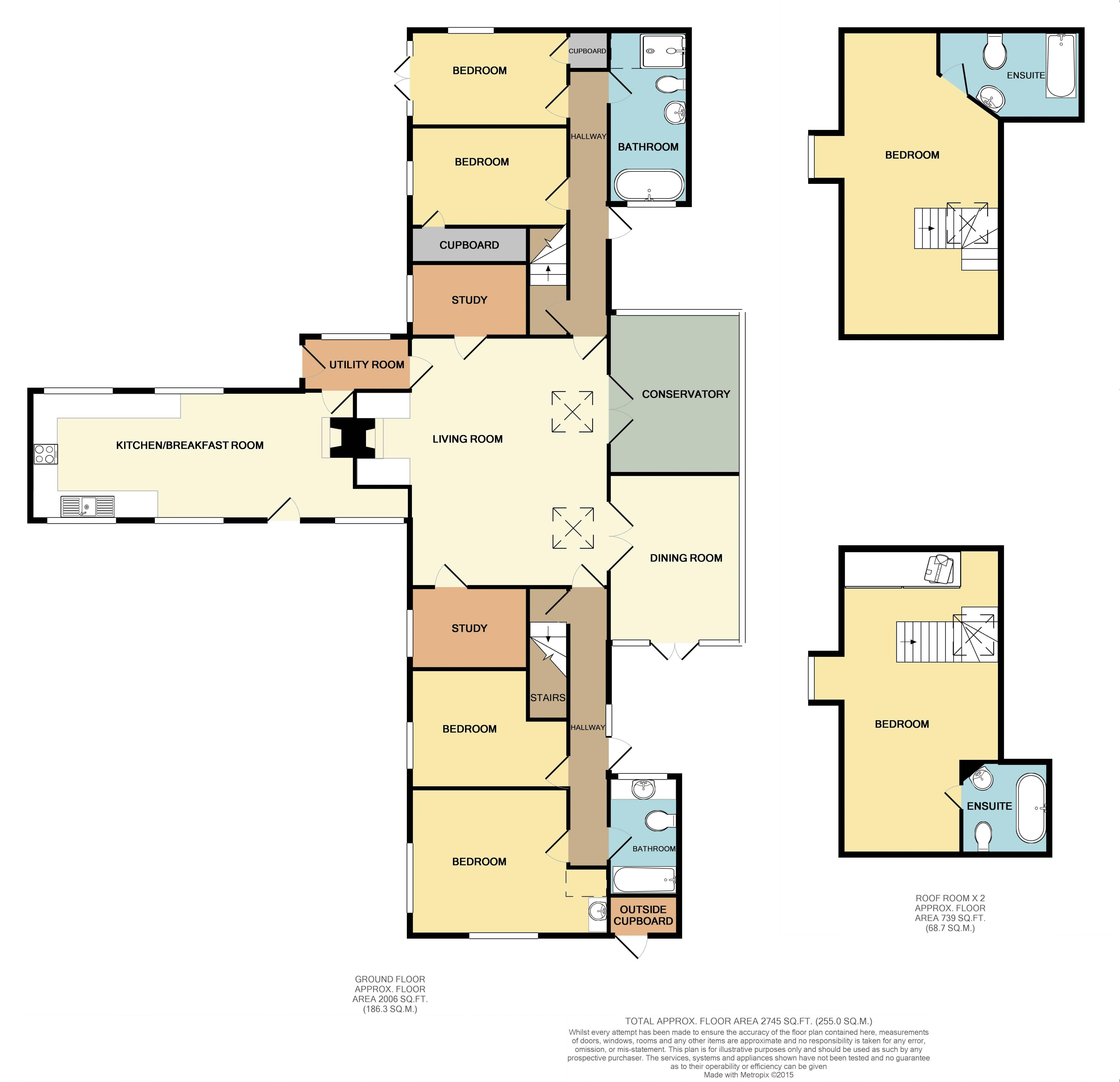 Colonist House Floorplan