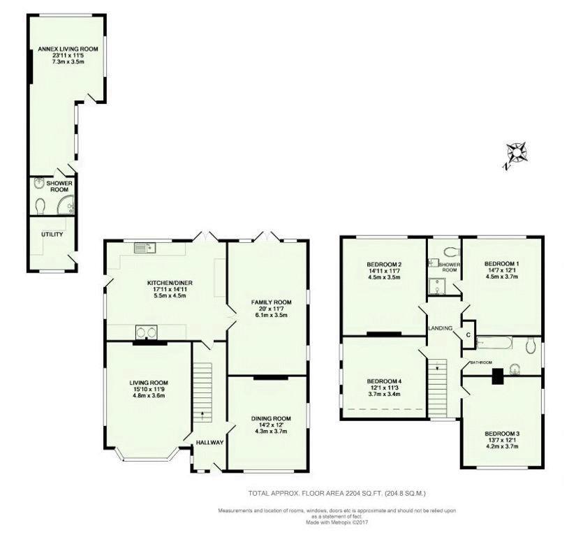 Well Cottage Floorplan