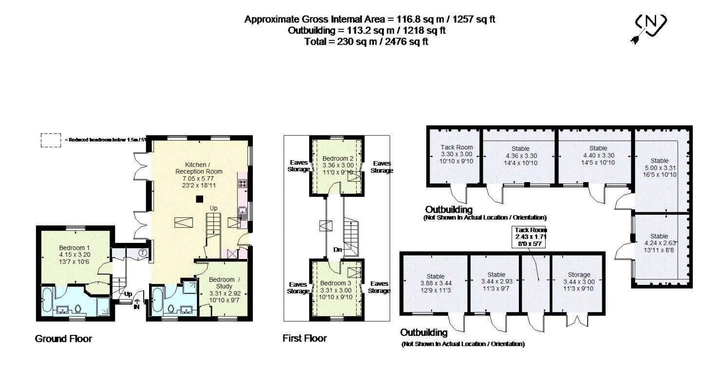 The Granary Floorplan