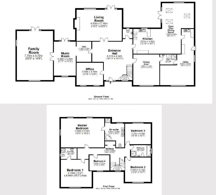 Chestnuts Floorplan