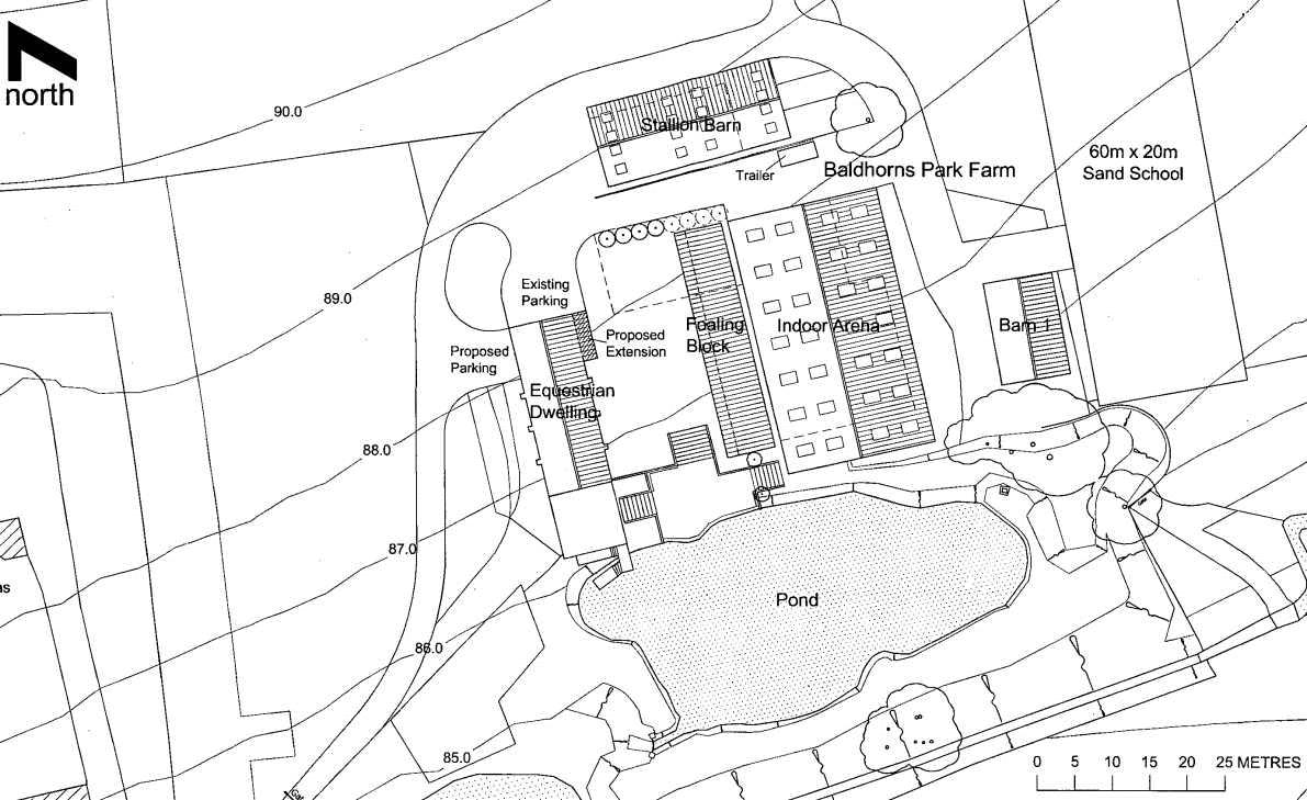 Plan for Equestrian Facilities