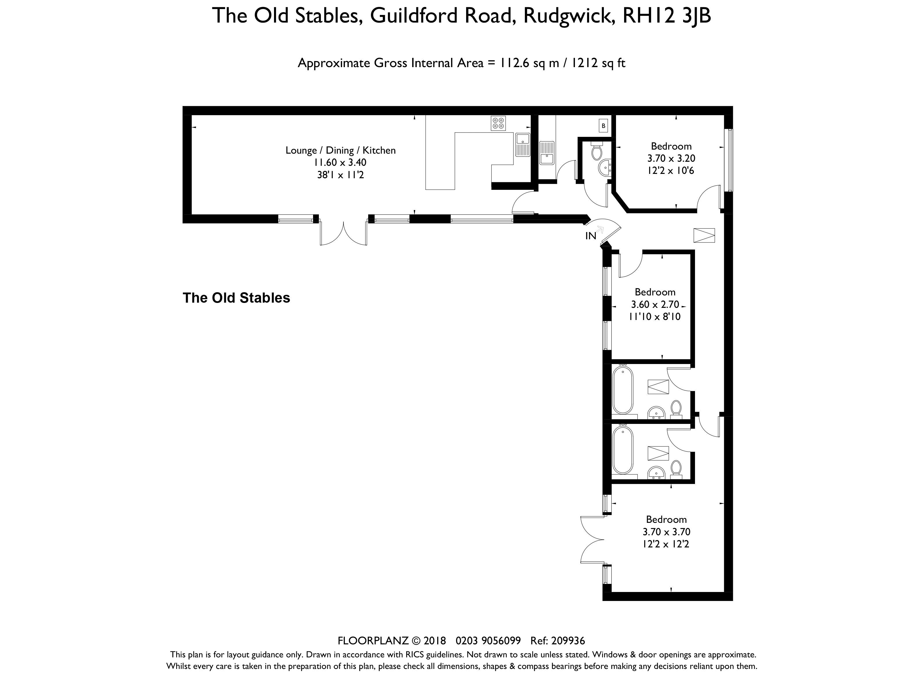 The Old Stables Floorplan
