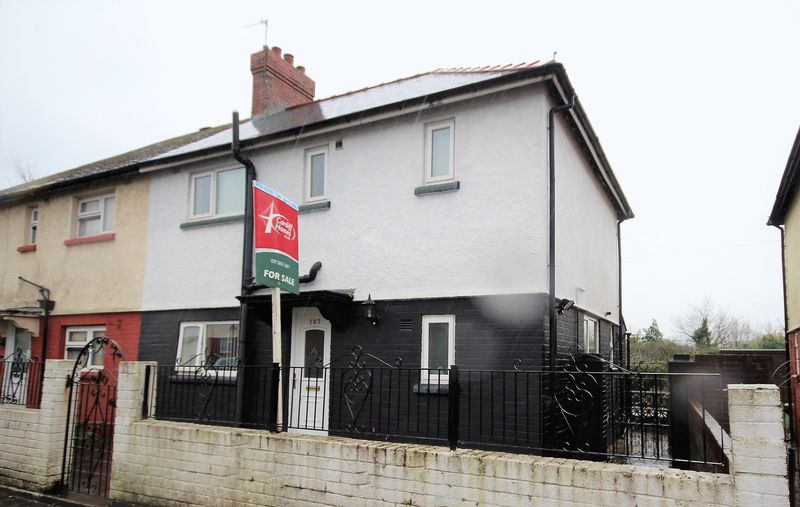 3 Bedrooms Semi Detached House for sale in Mynachdy Road, Cardiff