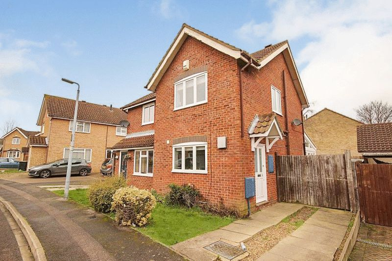 2 Bedrooms Semi Detached House for sale in Hawthorn Close, Ampthill