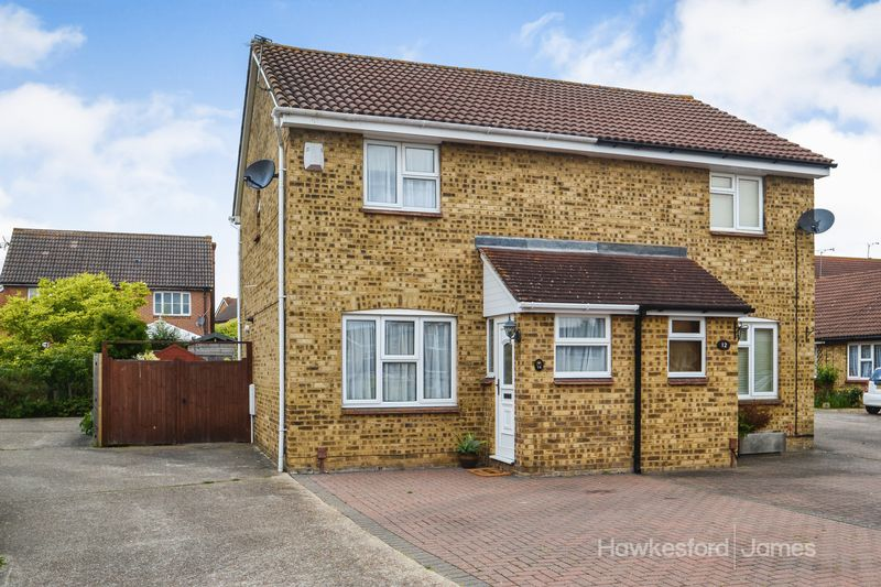 3 Bedrooms Semi Detached House for sale in Hambrook Walk, Sittingbourne