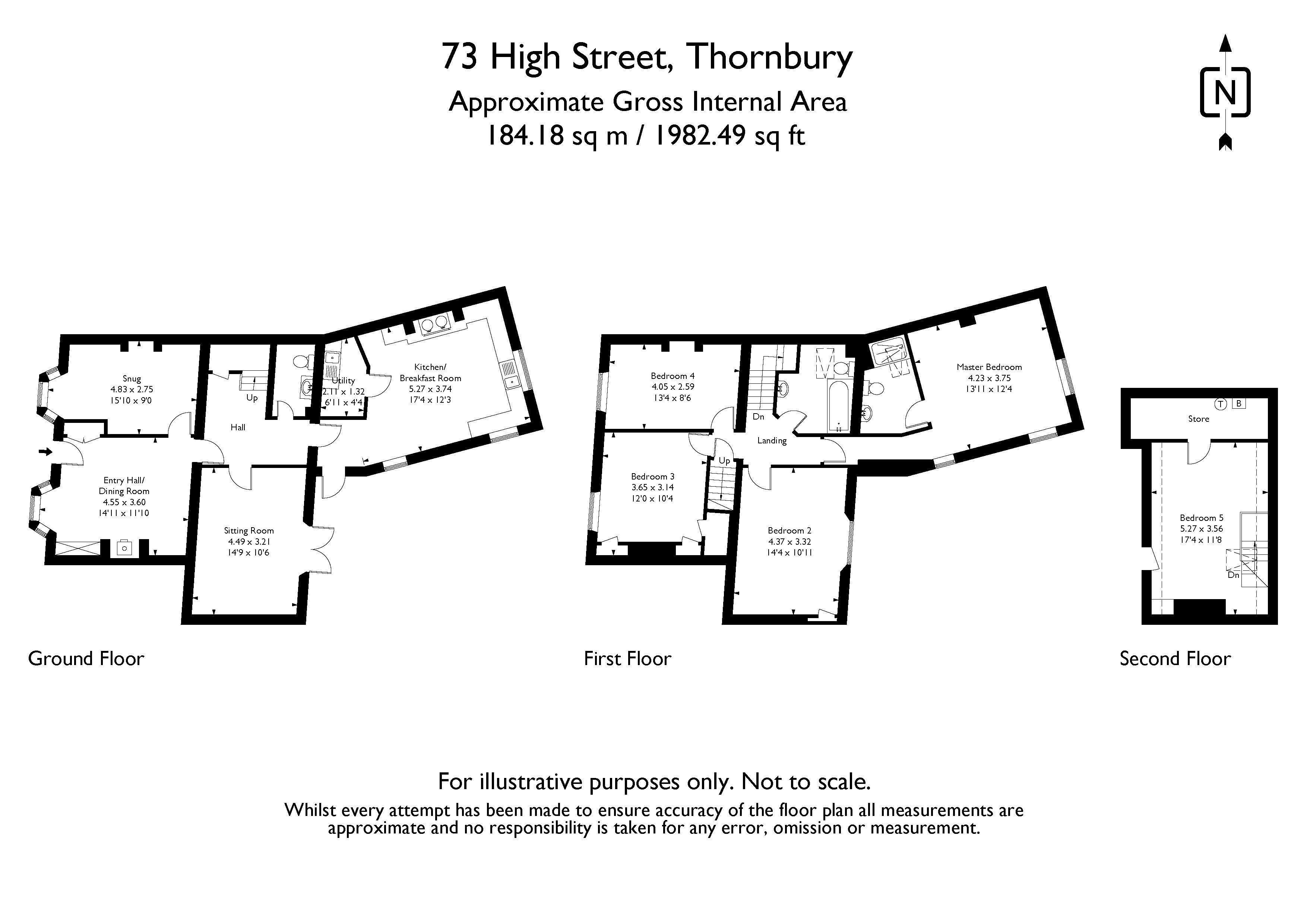 High Street Floorplan